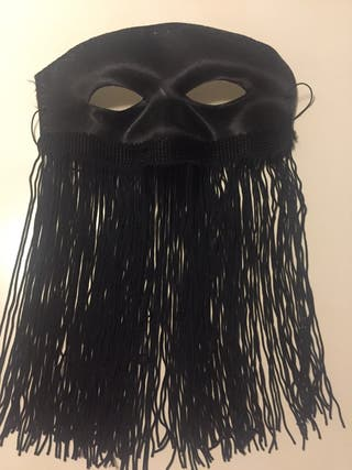 Mascara flecos largos