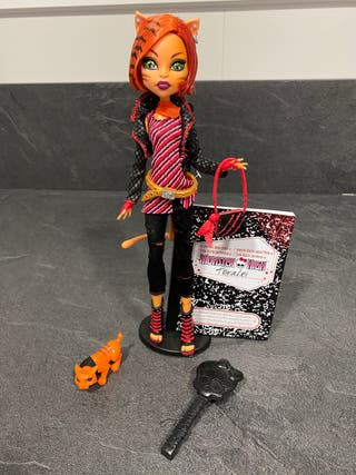 Monster High - Toralei COMPLETA NUEVA (1° EDICION)