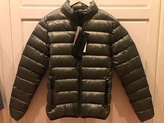 Ecoalf Rolle dusty olive jacket cazadora plumas
