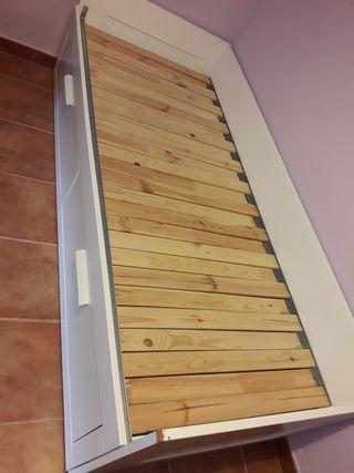Cama nido de Ikea con cajones