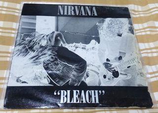 vinilo Nirvana Bleach Primera Edición