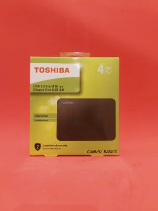 TOSHIBA CANVIO BASICS EXCLUSIVE - Disco Duro 4TB