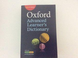 Diccionario inglés oxford Advanced Learner's 9 ed
