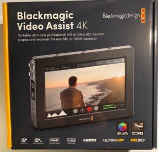 Grabador video Blackmagic 4K