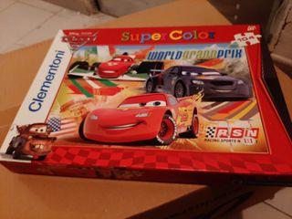 Puzzle de cars infantil.