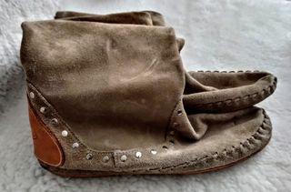 Botas de piel Paco Riera