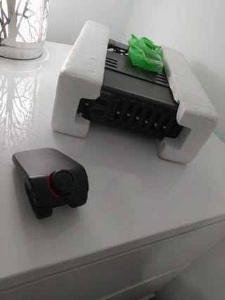 amplificador de coche y manos libres