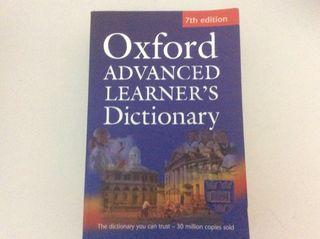 Diccionario inglés oxford advanced learner's dic
