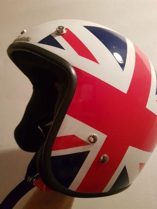 Casco ciclomotor marca Vespa modelo UK