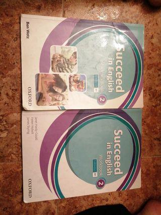 2 Libros Inglés Succeed in English B1 2ESO OXFORD