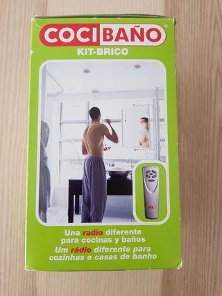 Kit KB radio 40401 cocina baño empotrada