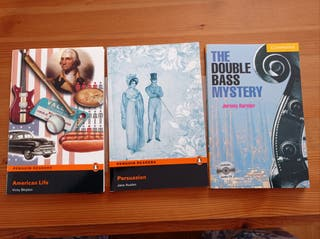 Tres libros+CD audio en inglés