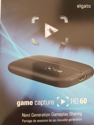 Capturadora el Gato HD 60