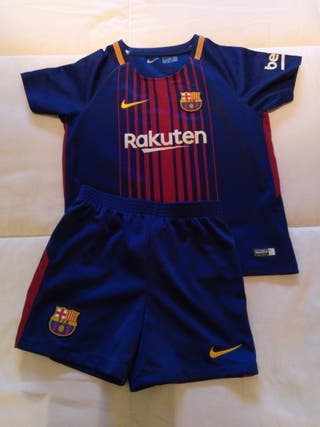 Equipación fútbol FC Barcelona 5 años