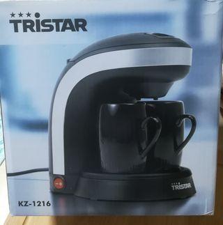 Cafetera eléctrica Tristar.