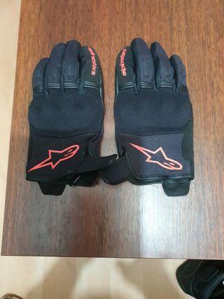 guantes moto verano alpinestars