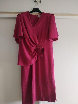 Vestido de fiesta / boda rosa fucsia