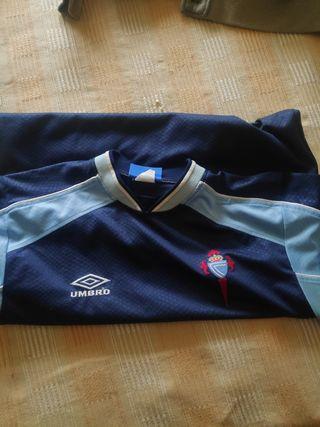 Camiseta Celta final copa rey sevilla 2001