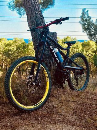 Bicicleta de descenso