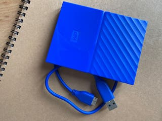 Disco duro WD 1TB My PassPort