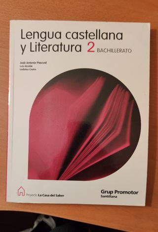 libro castellano y literatura 2º bachillerato