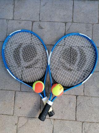 Raquetas de tenis niño