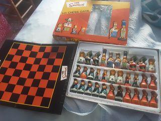 ajedrez los Simpson