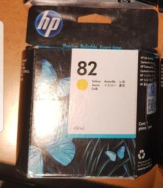 Cartucho amarillo Plotter HP Designjet 500