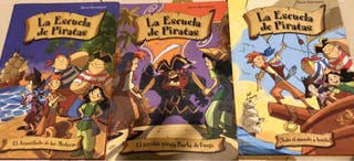 Pack de 3 libros Escuela de Piratas
