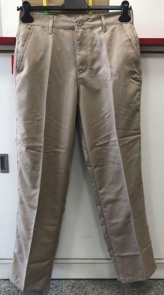 Pantalón de trabajo color caqui - talla M
