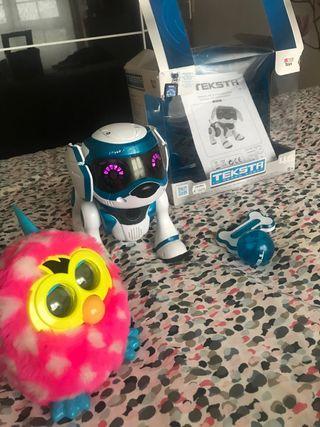 Teksta robot interactivo FURBY de regalo