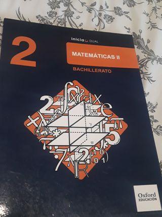 Matemáticas 2o Bachillerato Editorial Oxford