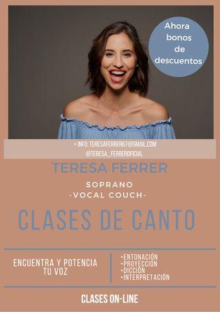 CLASES DE CANTO (online)