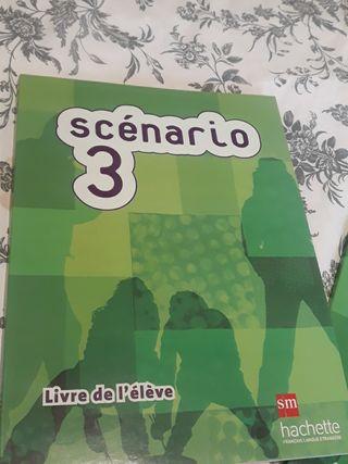 Francés Scenario 3 2o Bachiller Editorial SM