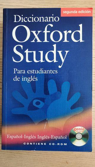 Diccionari Oxford Study para estudiantes de ingles