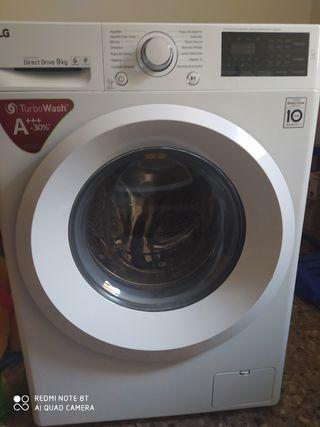 lavadora LG 9kg