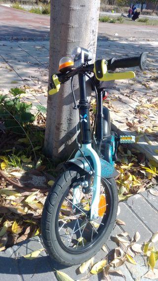 bicicleta 14 pulgadas Decathlon