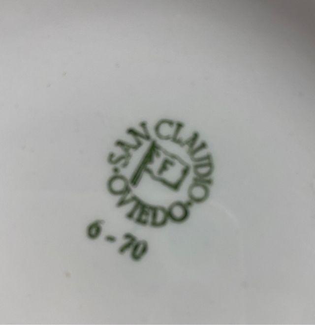 Vajilla completa San Claudio