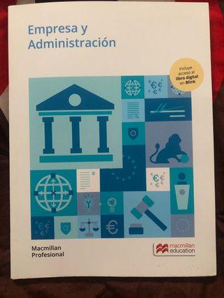 Grado medio Empresa y administración libro