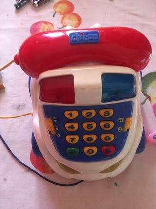 Teléfono chicco