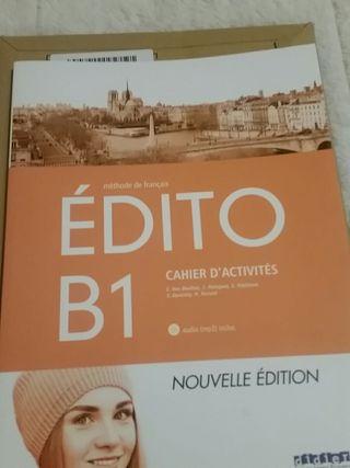 Escuela idiomas. Frances. B1