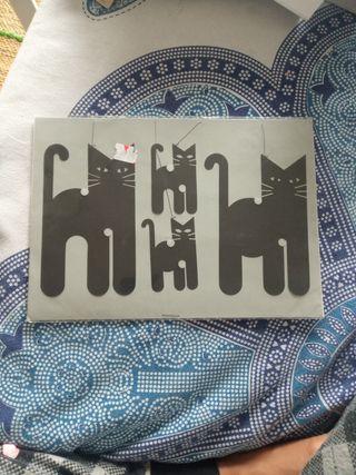 móviles decorativos gatos