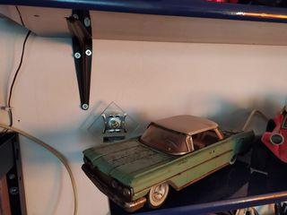 coche juguete antiguo de osmobile antiguo años 60
