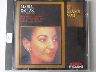 CD MARIA CALLAS LE GRANDI VOCI - TOSCA - TRAVIATA