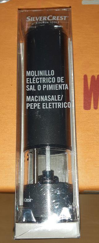 Molinillo eléctrico de sal o pimienta. Urge vender
