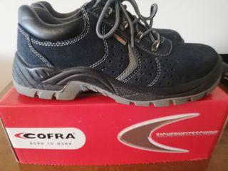Zapatos de trabajo azules Talla 42