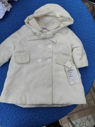 abrigo talla 3 meses