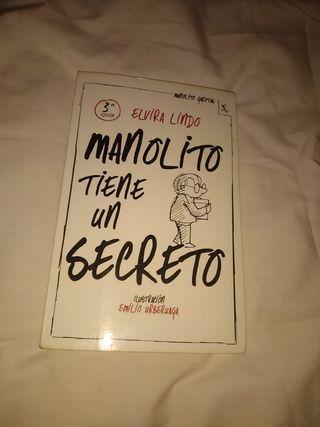Manolito tiene un secreto - Elvira Lindo