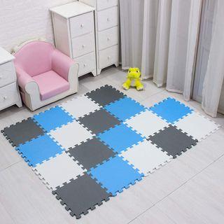 18 Piezas alfombra puzzle suelo bebe