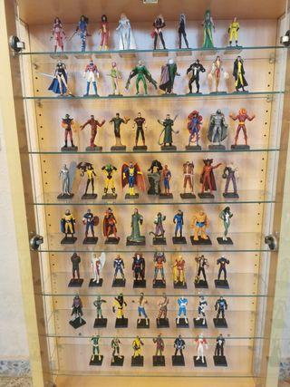 Lote de figuras superhéroes MARVEL de plomo